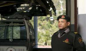 Private security services turning into an industry
